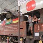 Aš su mama Mirties geležinkelio muziejuje